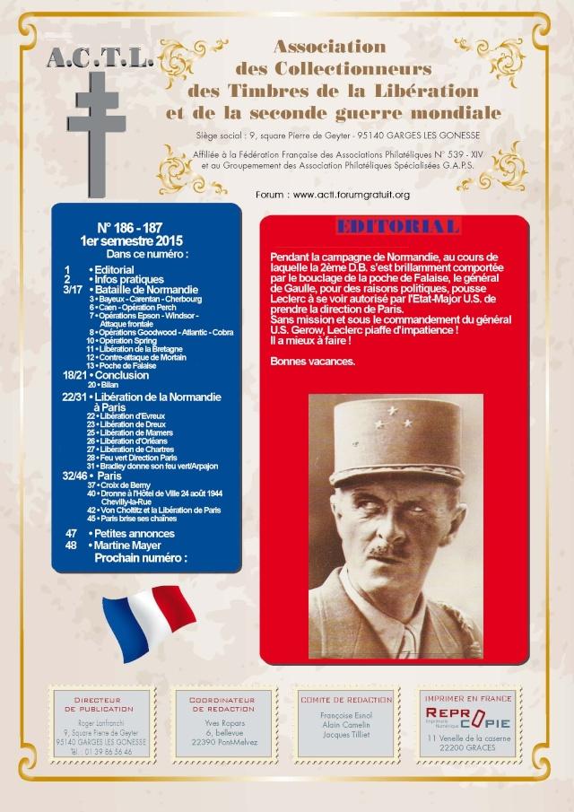 LA REVUE 1er SEMESTRE 2015 n° 186 DE LA NORMANDIE A PARIS 1yre_d10