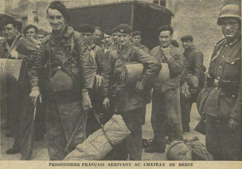 Défenses de la ville de Brest - Juin 1940 Prison10