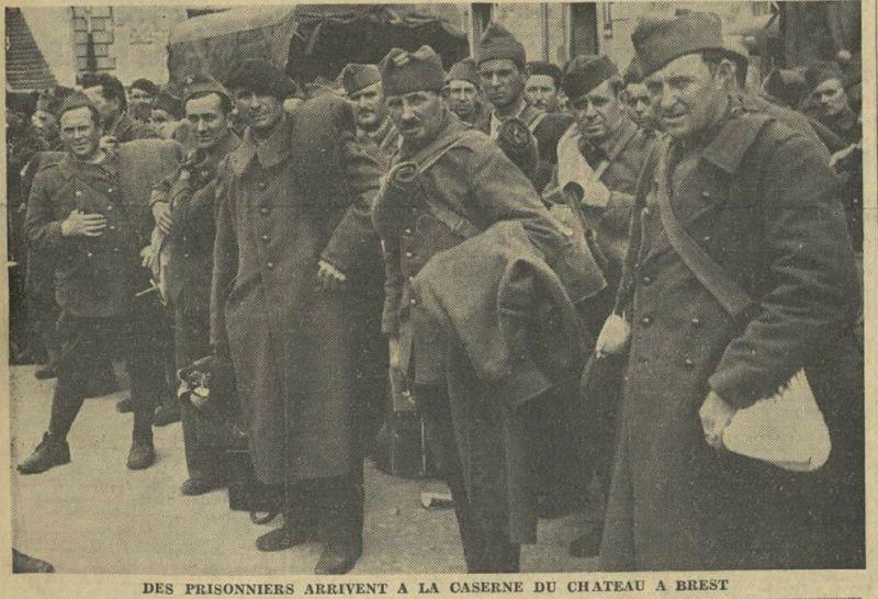 Défenses de la ville de Brest - Juin 1940 Prison11