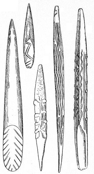 __2.1.2.a. Les armes utilisées au Solutréen. 322px-10