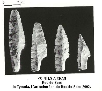 __2.1.2.a. Les armes utilisées au Solutréen. Pointe13