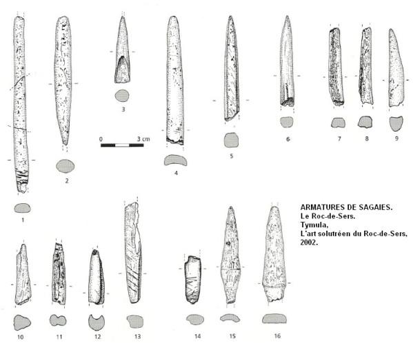 __2.1.2.a. Les armes utilisées au Solutréen. Sagaie10