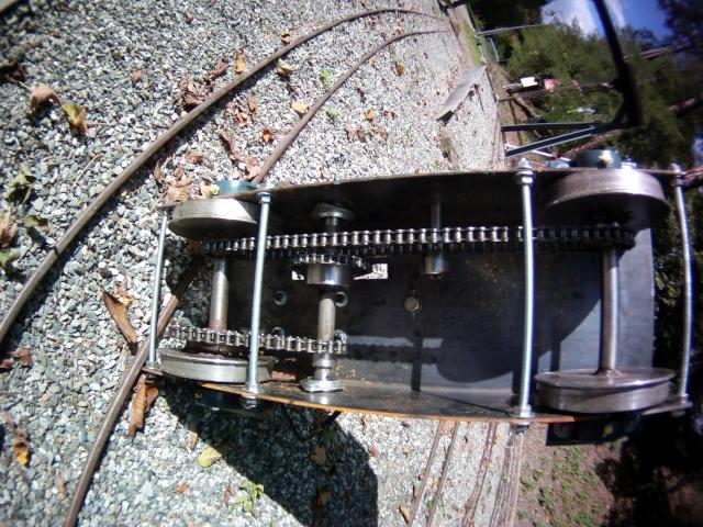 Ge 4/4 LS 204 passage en électrique File0011