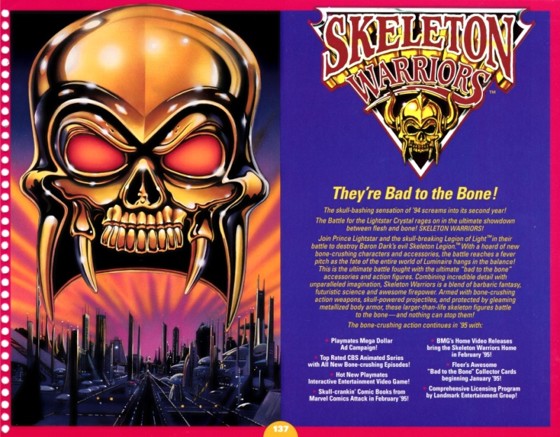 SKELETON WARRIORS (Playmates-Idéal) 1994 0110