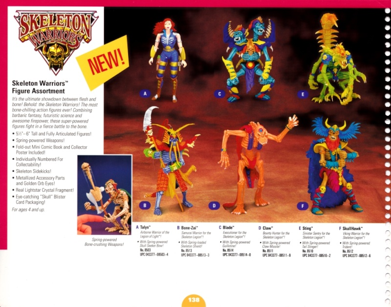 SKELETON WARRIORS (Playmates-Idéal) 1994 0210