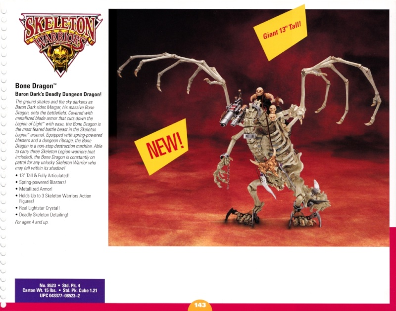 SKELETON WARRIORS (Playmates-Idéal) 1994 0710