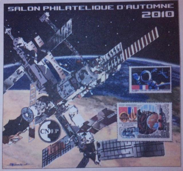 Salon Philatélique d'Automne à Paris - L'Espace et le vol habité à l'honneur P2206_10