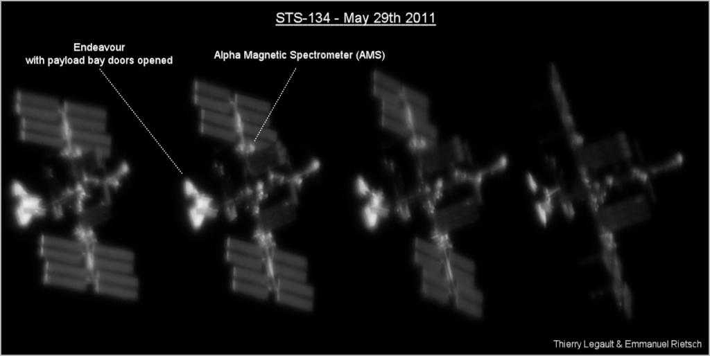 """""""Photo de famille"""" Photo d'ISS avec une navette arrimée. - Page 6 Sts-1310"""