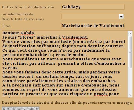 Bureau de dépöt des  Infractions aux Embauches, au Marché. - Page 9 Gabda710