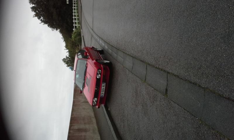 mon GTV6  de nouveau sur la route 20150910