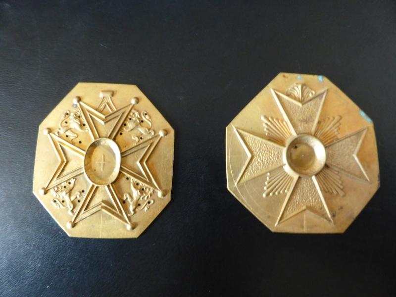 Matrice ou partie de médailles, belge??? P1020115