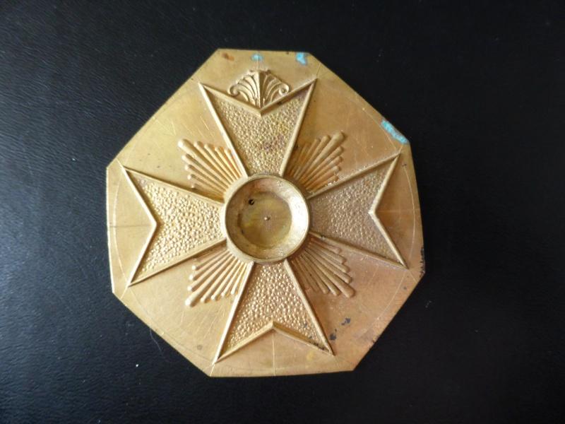 Matrice ou partie de médailles, belge??? P1020118