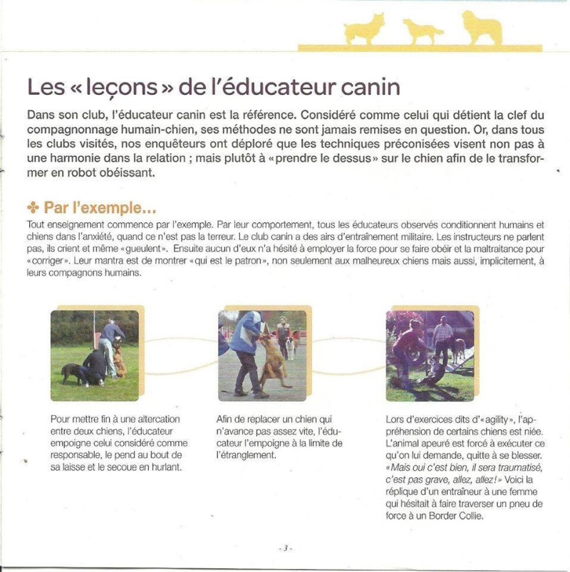 Difficulté à trouver un bon club: enquête dans des clubs canins... Image36