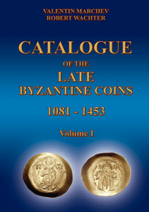 Catalogue of Late Byzantine Coins, Volume I -  Cover-10