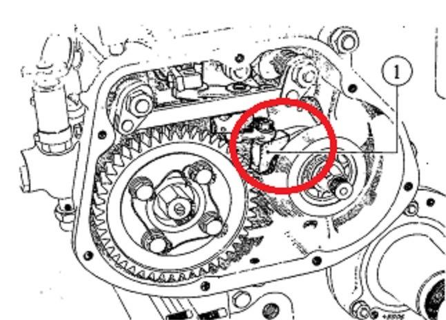 régulation du moteur super 6D.. Fourch11