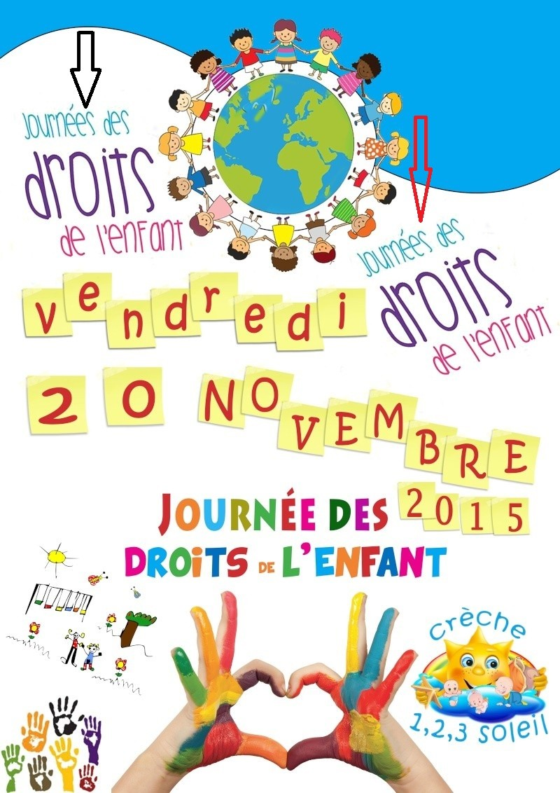 Affiche journées des droits de l'enfant Sans_t10