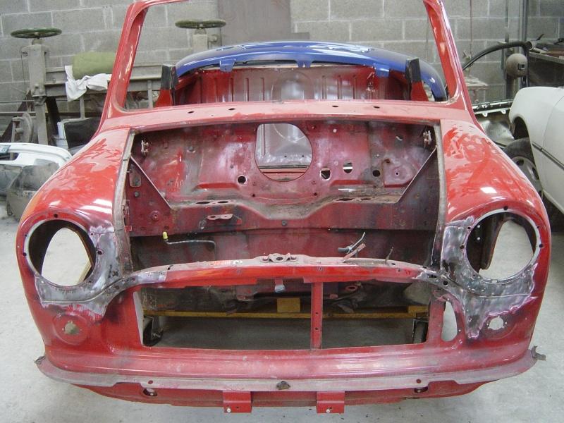 Resto Mini Cooper 92 Arc-de-Triomphe. Par le garage rcaustin. Dsc08522