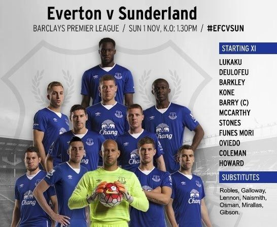 Everton v Sunderland Untitl18
