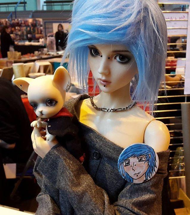 [Popidoll Fox] Goupix et Goupixia le duo de renard geek 0412