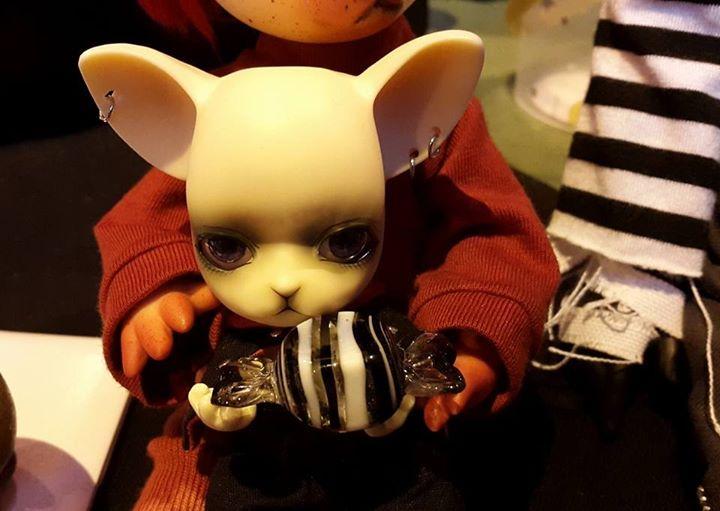 [Popidoll Fox] Goupix et Goupixia le duo de renard geek 0811
