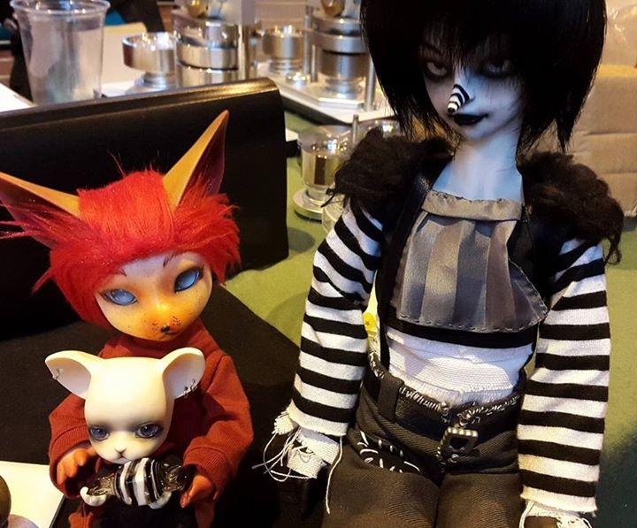 [Popidoll Fox] Goupix et Goupixia le duo de renard geek 0911