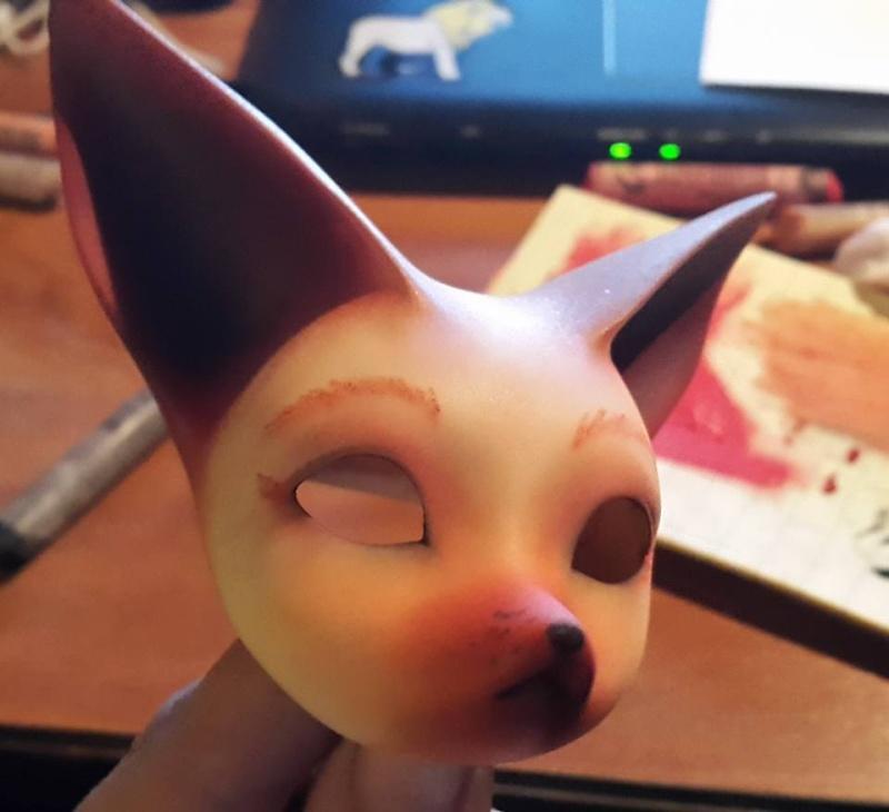 [Popidoll Fox] Goupix et Goupixia le duo de renard geek 11896210
