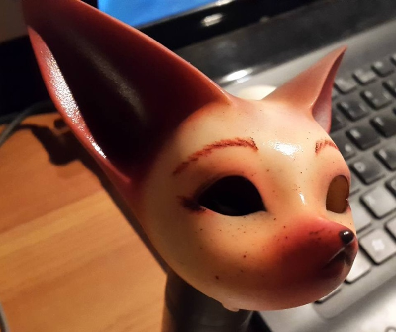 [Popidoll Fox] Goupix et Goupixia le duo de renard geek 11935010