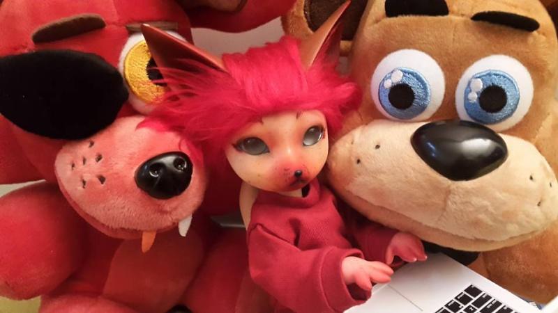 [Popidoll Fox] Goupix et Goupixia le duo de renard geek 12043110