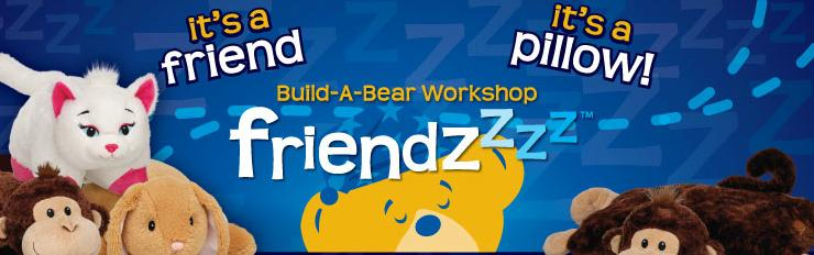 Build a bear is selling something like Pillow Pets Friend10