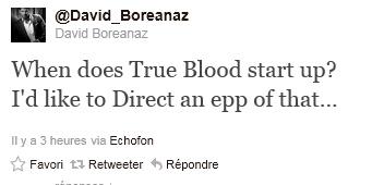 David sur Twitter 11-06-12