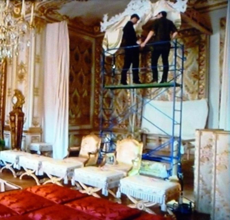 Versailles, rois, princesses et présidents sur France3 P1060617