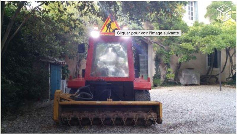 LBC: Tracteur de pente débroussailleur VP 5000 Captur23