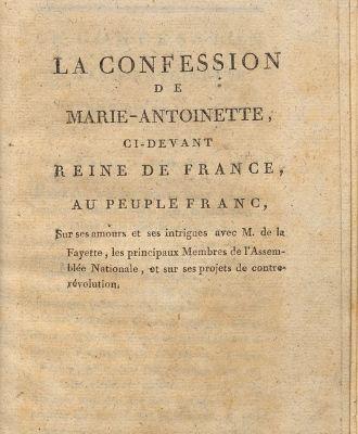 Marie-Antoinette, victime des pamphlets 1792_c10