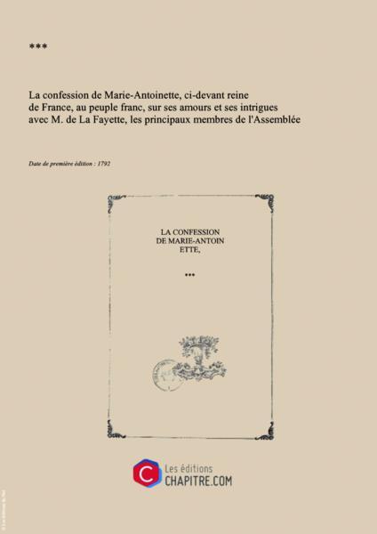 Marie-Antoinette, victime des pamphlets 58986910