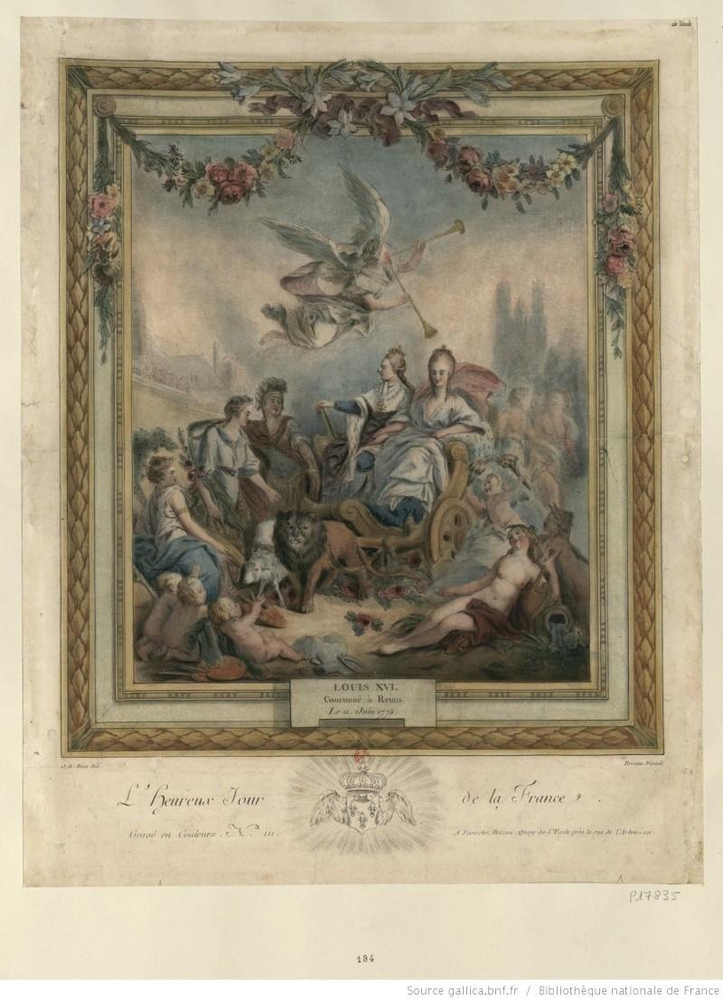 Le couronnement et le sacre de Louis XVI Btv1b610