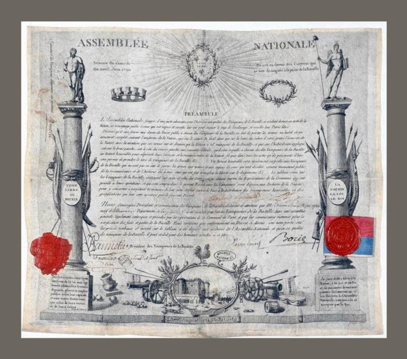 14 juillet 1789 : la  prise de la Bastille - Page 2 Diplom10