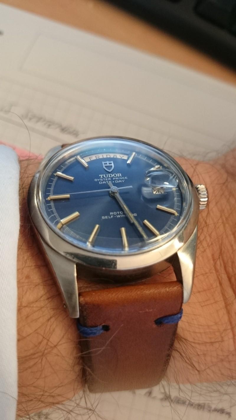 Cadran bleu -> quel bracelet cuir ? Tudor210