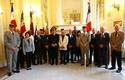 (N°61)Photos de la cérémonie de la remise de la carte et de la croix du combattant  le jeudi 1er octobre 2015 à des anciens du TCHAD  et d'autres pays ,  à des militaires d'actives et des réservistes.(Photos de Raphaël ALVAREZ et Raphaël DELLE-CASE) Mc151013