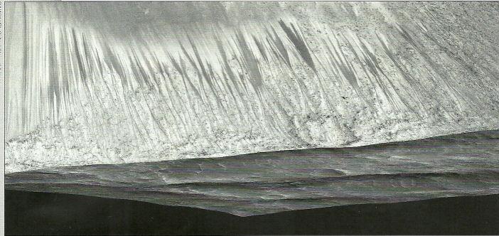 Les ravinements sur mars : c'est l'action de l'eau Gullie11