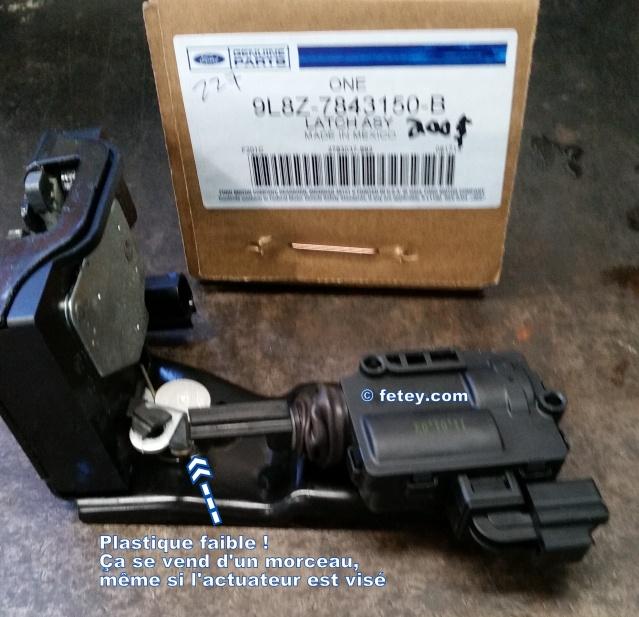 Ford Escape 2010, le hayon électrique n'ouvre pas 20150915