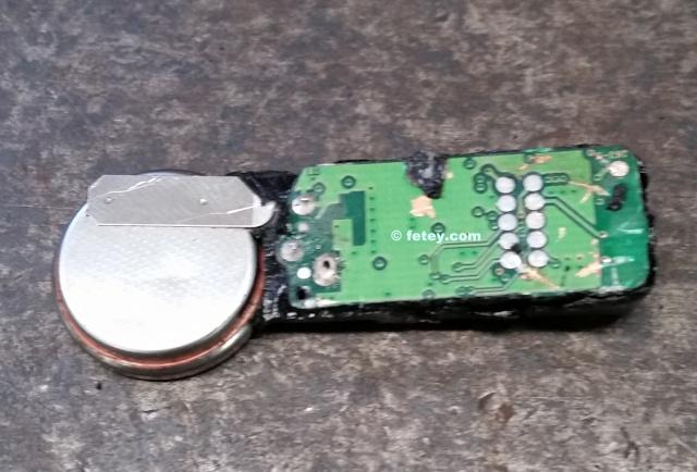 Sensor TPMS démonté 20150929
