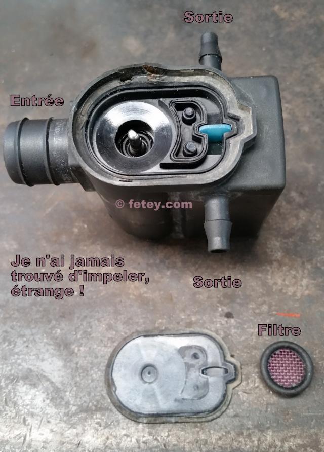 Hyundai Accent, pompe de lave-glace 3 fils démontée 20150933