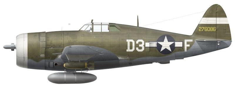 P47 RAZORBACK du LT MARVIN ROSVOLD 397 FS 368FG 1944 [21ST CENTURY TOYS - 1/18] Iisp-410