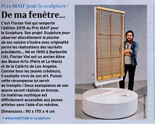 Prix MAIF pour la sculpture. 10429810