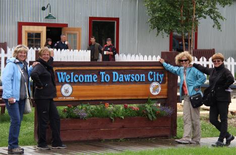 Dawson City, ville témoin de la ruée vers l'or du Klondike. Dawson11