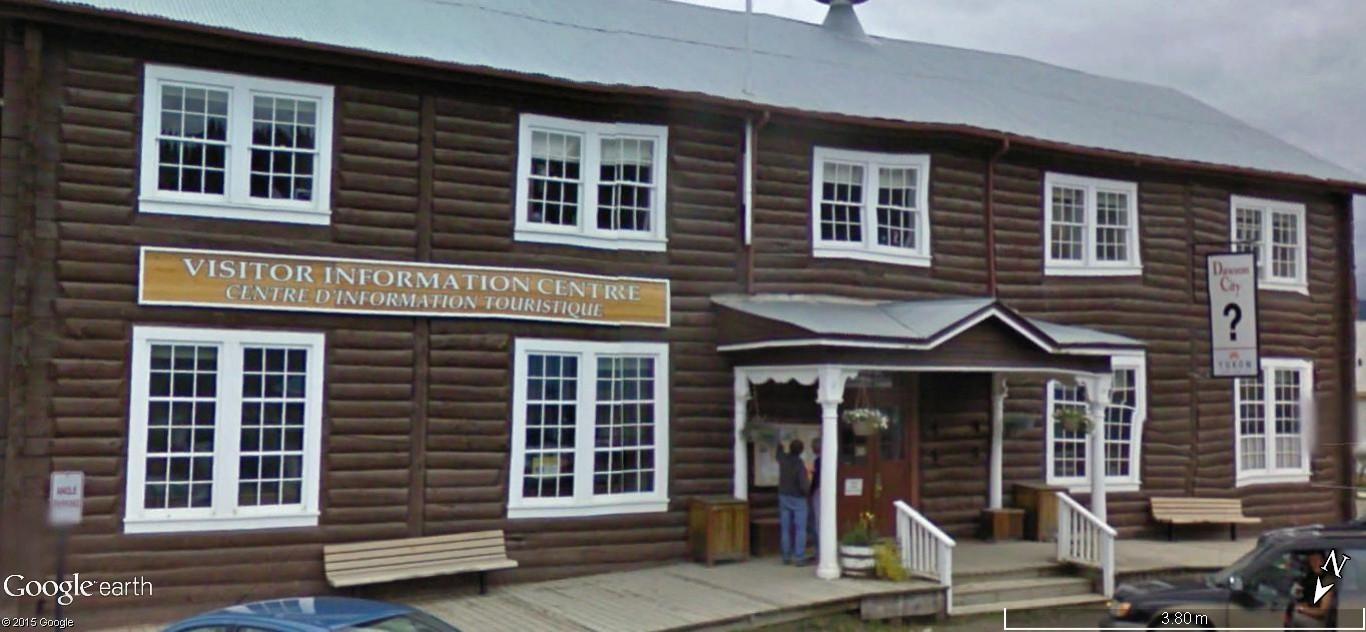 Dawson City, ville témoin de la ruée vers l'or du Klondike. Dawson13