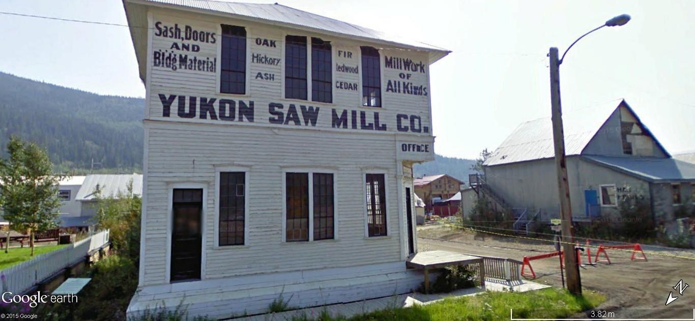 Dawson City, ville témoin de la ruée vers l'or du Klondike. Dawson27