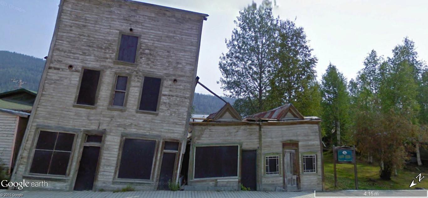 Dawson City, ville témoin de la ruée vers l'or du Klondike. Dawson41