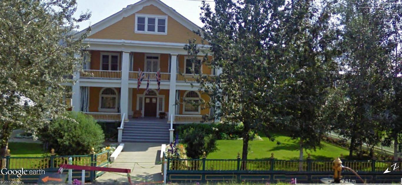 Dawson City, ville témoin de la ruée vers l'or du Klondike. Dawson44
