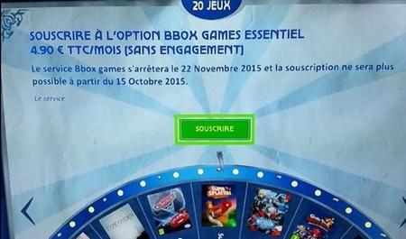 Le service de Cloud Gaming: Bbox Games, s'arrête chez Bouygues Telecom Bboxga10